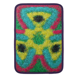 Colorful abstract kaleidoscope MacBook air sleeves