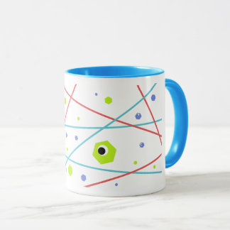 Colorful Abstract Laser Space Mug