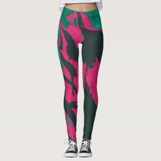Colorful Abstract - Leggings