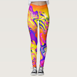 Colorful Abstract♥ Leggings