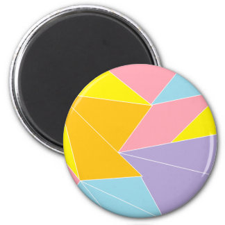 Colorful Abstract Refrigerator Magnet