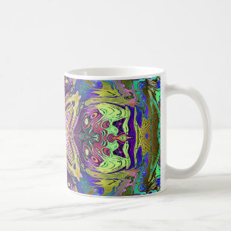 Colorful Abstract Mandala Coffee Mug