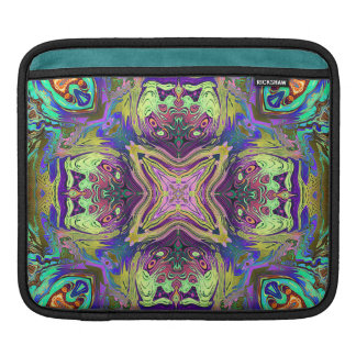 Colorful Abstract Mandala iPad Sleeve