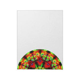 Colorful Abstract Mandala Side Notepad