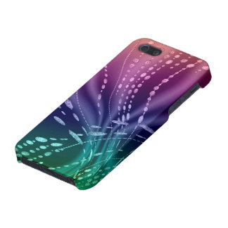 Colorful Abstract Matte Finish iPhone 5/5S Case