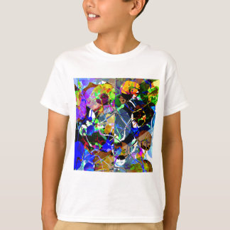 Colorful Abstract Mixed Media T-Shirt