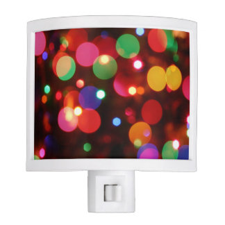 Colorful Abstract Night Light