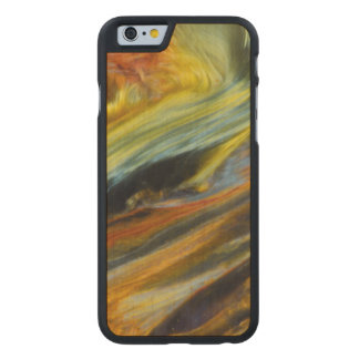 Colorful abstract of Pietersite Carved Maple iPhone 6 Case