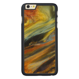Colorful abstract of Pietersite Carved Maple iPhone 6 Plus Case