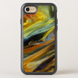 Colorful abstract of Pietersite OtterBox Symmetry iPhone 7 Case
