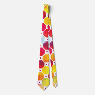 Colorful abstract party tie