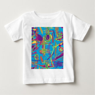 Colorful abstract pattern baby T-Shirt