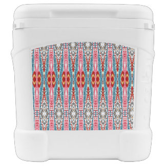 Colorful abstract pattern cooler