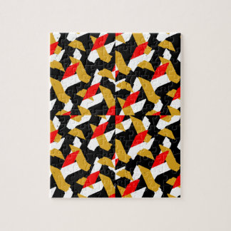 Colorful Abstract Pattern Jigsaw Puzzle