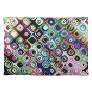 Colorful Abstract Pattern Placemat