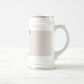 Colorful Abstract Picture 18 Oz Beer Stein