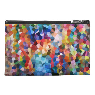 Colorful abstract pop art design travel bag