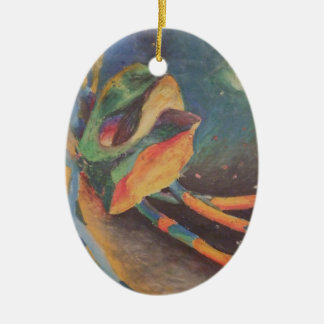 Colorful abstract shapes in space Ornament