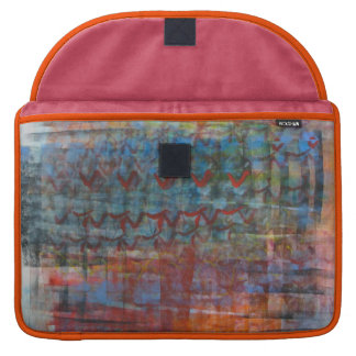 Colorful Abstract Sleeve For MacBooks