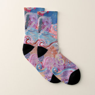 Colorful Abstract Socks 1