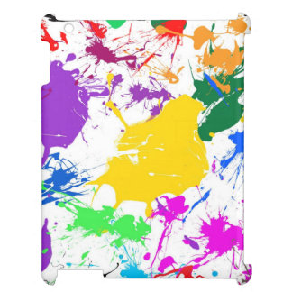 colorful abstract splash art case for the iPad 2 3 4