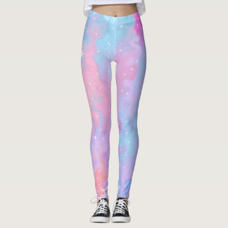 Colorful Abstract Star Leggings