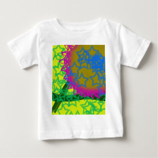 Colorful Abstract Stars Baby T-Shirt