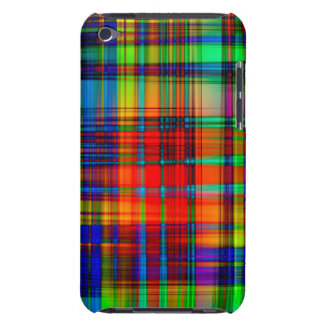 Colorful Abstract Stripes Art Barely There iPod Covers
