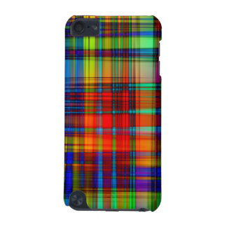 Colorful Abstract Stripes Art iPod Touch (5th Generation) Cover