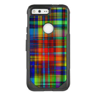 Colorful Abstract Stripes Art OtterBox Commuter Google Pixel Case