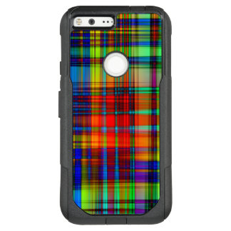Colorful Abstract Stripes Art OtterBox Commuter Google Pixel XL Case