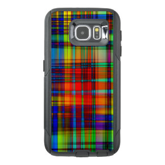 Colorful Abstract Stripes Art OtterBox Samsung Galaxy S6 Case