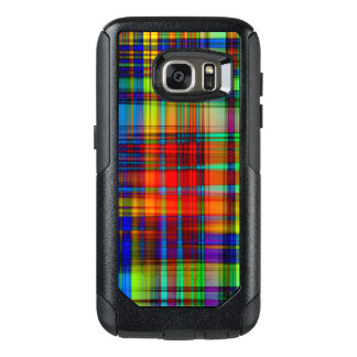 Colorful Abstract Stripes Art OtterBox Samsung Galaxy S7 Case