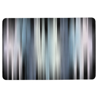 Colorful Abstract Stripes Floor Mat