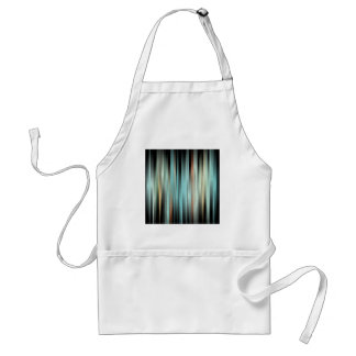 Colorful Abstract Stripes Standard Apron