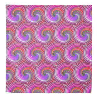 Colorful Abstract Swirls #2 Duvet Cover