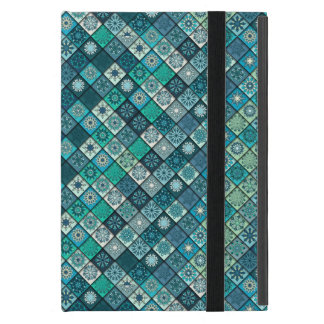 Colorful abstract tile pattern design case for iPad mini