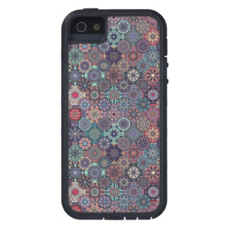 Colorful abstract tile pattern design case for the iPhone 5
