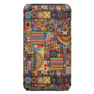 Colorful abstract tile pattern design Case-Mate iPod touch case