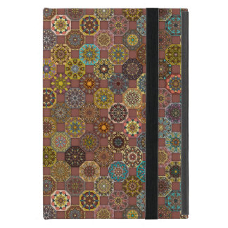 Colorful abstract tile pattern design cases for iPad mini