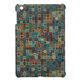 Colorful abstract tile pattern design cover for the iPad mini