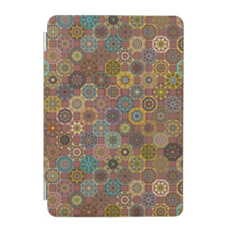 Colorful abstract tile pattern design iPad mini cover