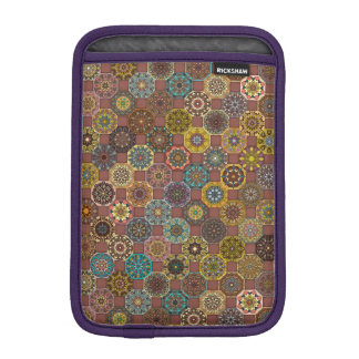 Colorful abstract tile pattern design iPad mini sleeve