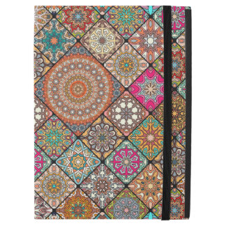 """Colorful abstract tile pattern design iPad pro 12.9"""" case"""
