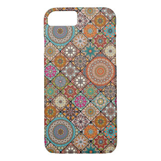 Colorful abstract tile pattern design iPhone 8/7 case