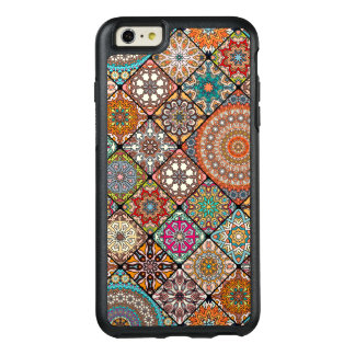 Colorful abstract tile pattern design OtterBox iPhone 6/6s plus case