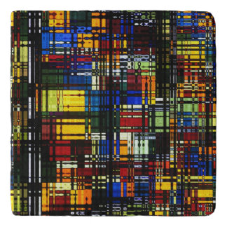 Colorful Abstract Trivet
