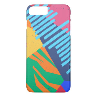 Colorful Abstract Tropical Background | Phone Case