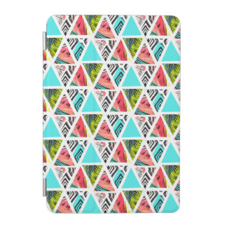 Colorful Abstract Tropical Pattern iPad Mini Cover