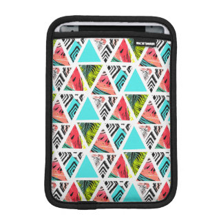Colorful Abstract Tropical Pattern iPad Mini Sleeve